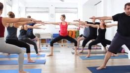 תרגול יוגה דינאמי