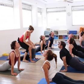 שיעור - תרגול יוגה דינאמי